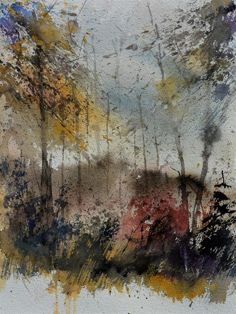 """watercolor 619052"" original fine art by Pol Ledent"