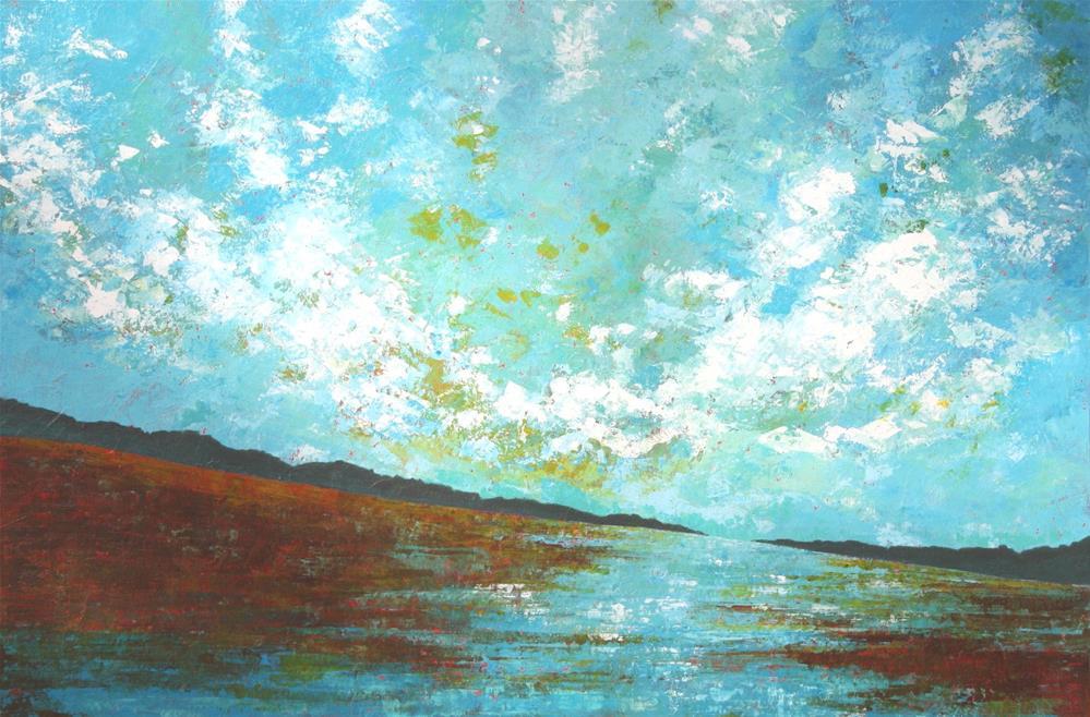 """Spring Run Off"" original fine art by Sage Mountain"