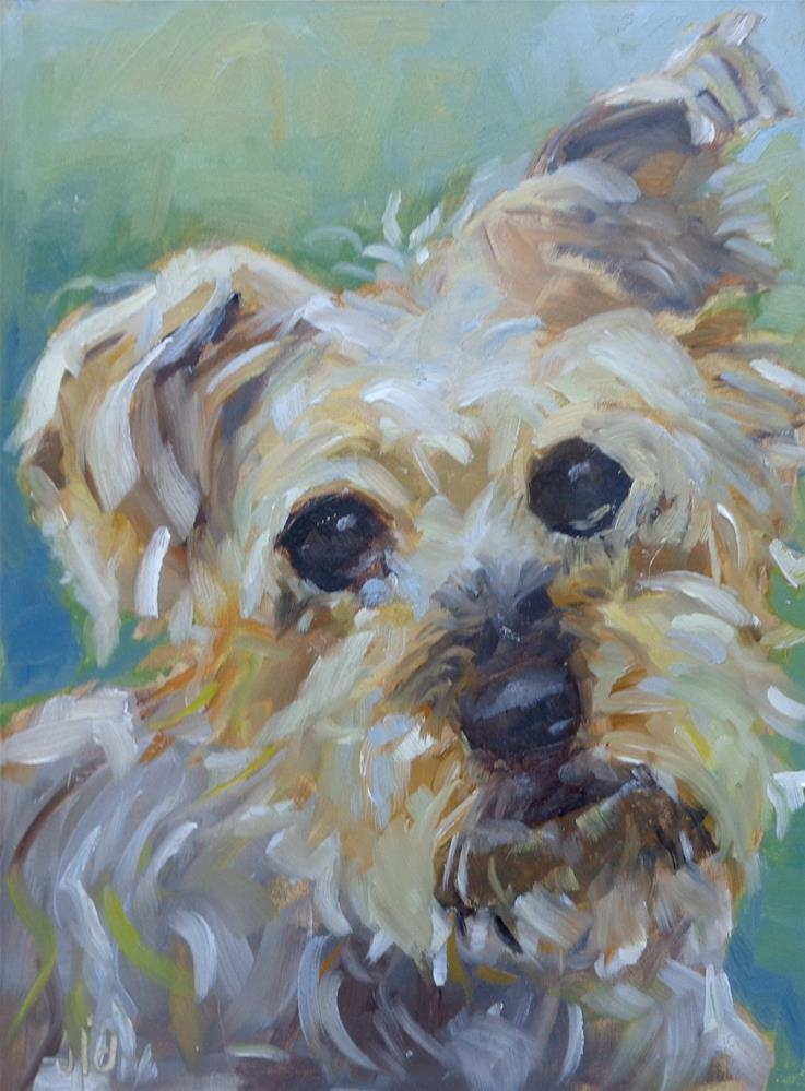 """SWEET FACE"" original fine art by Jean Delaney"