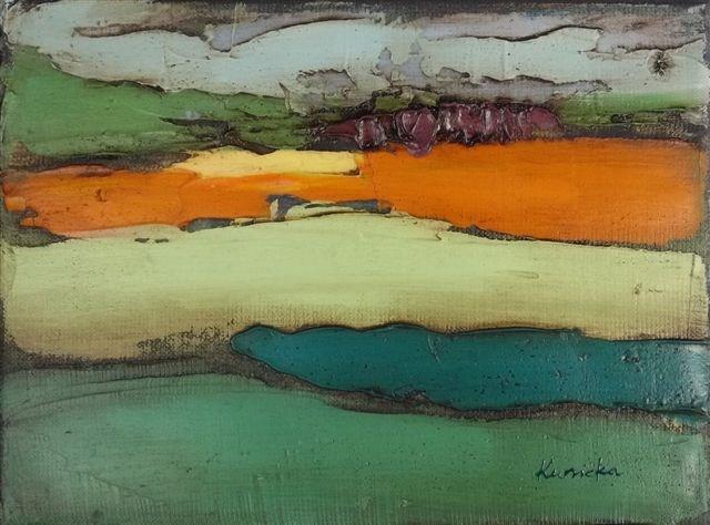 """Landscape"" original fine art by Ewa Kunicka"