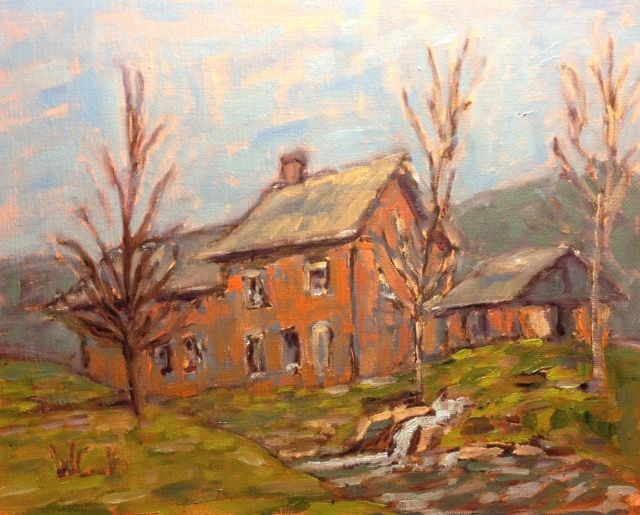 """Harrisville, New Hampshire - #2"" original fine art by William Cook"