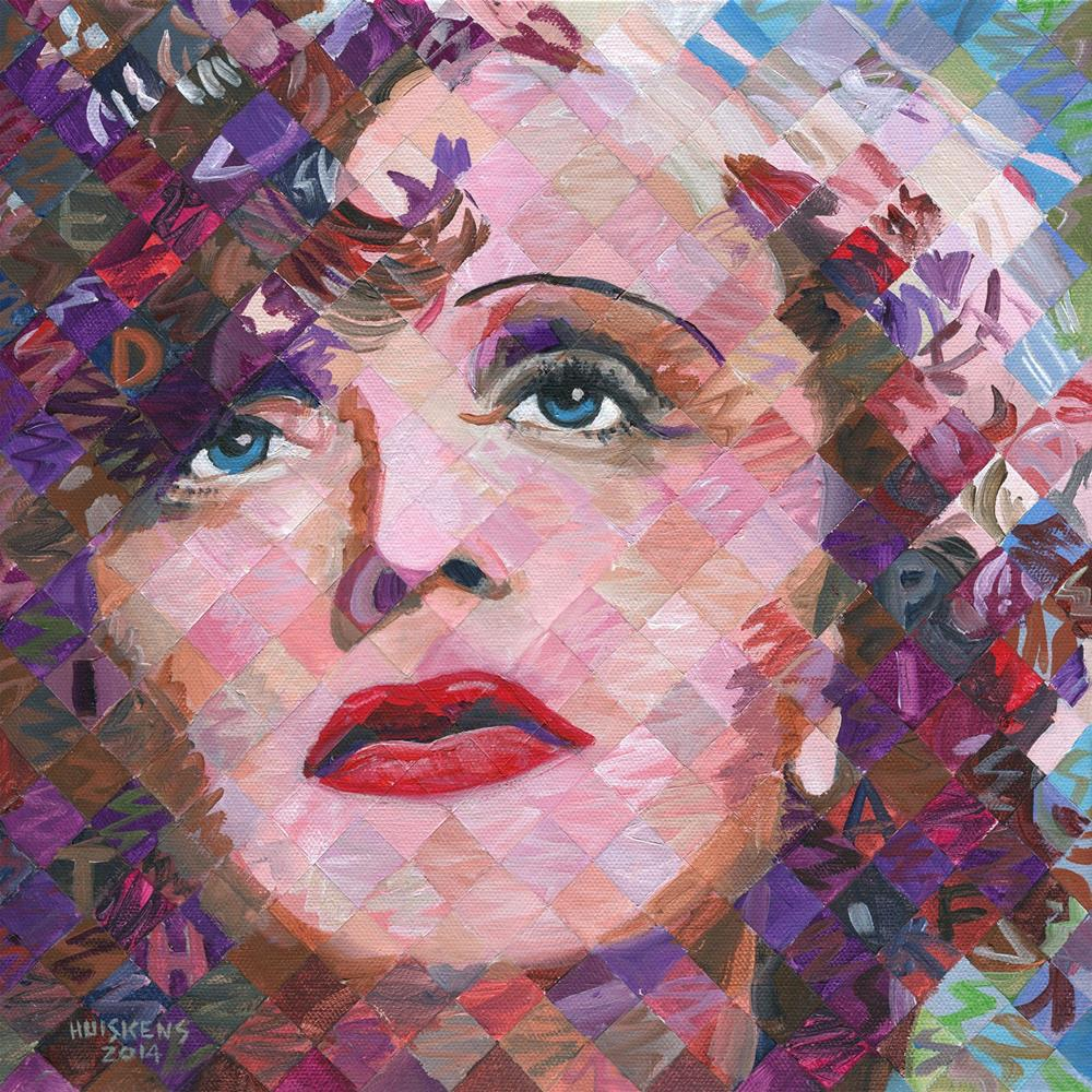 """Edith Piaf"" original fine art by Randal Huiskens"
