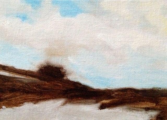 """""""Dune Sky"""" original fine art by Susan Hammer"""