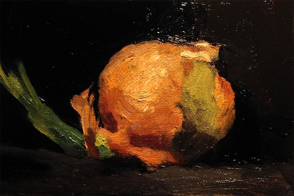 """Onion"" original fine art by Chris Beaven"