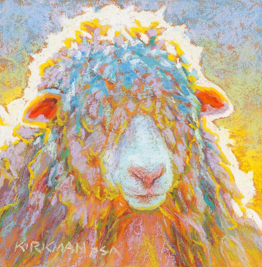 """Ray"" original fine art by Rita Kirkman"