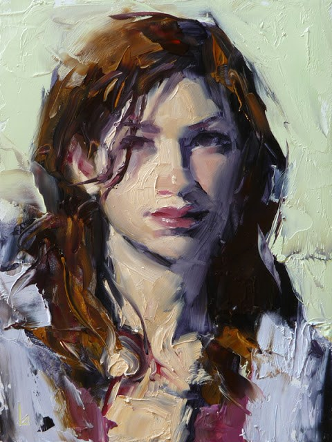 """Cozy"" original fine art by John Larriva"