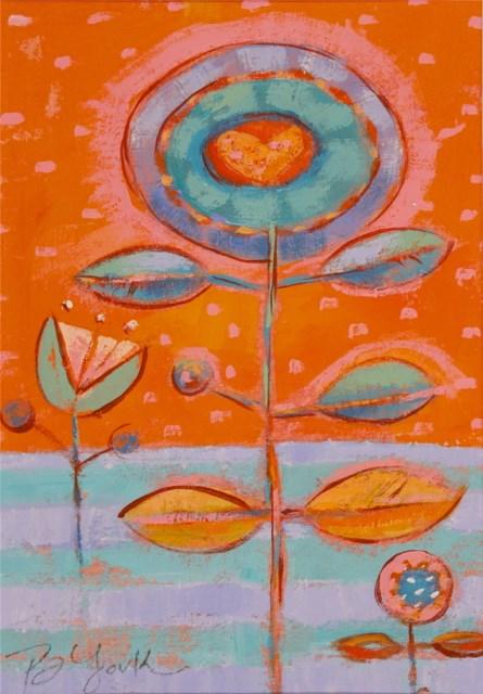 """Earthly Delights"" original fine art by Brenda York"