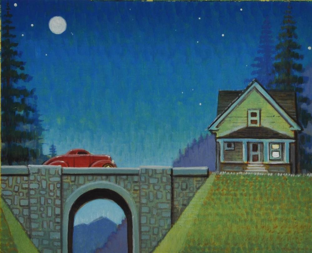 """Hideaway"" original fine art by Robert LaDuke"