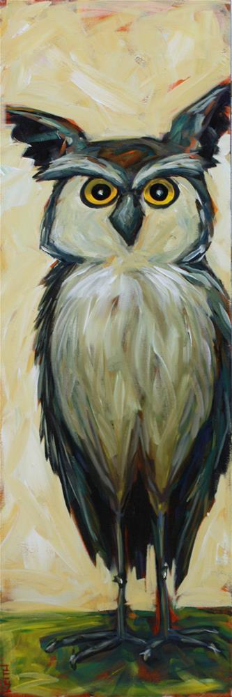 """Opie"" original fine art by Kandice Keith"
