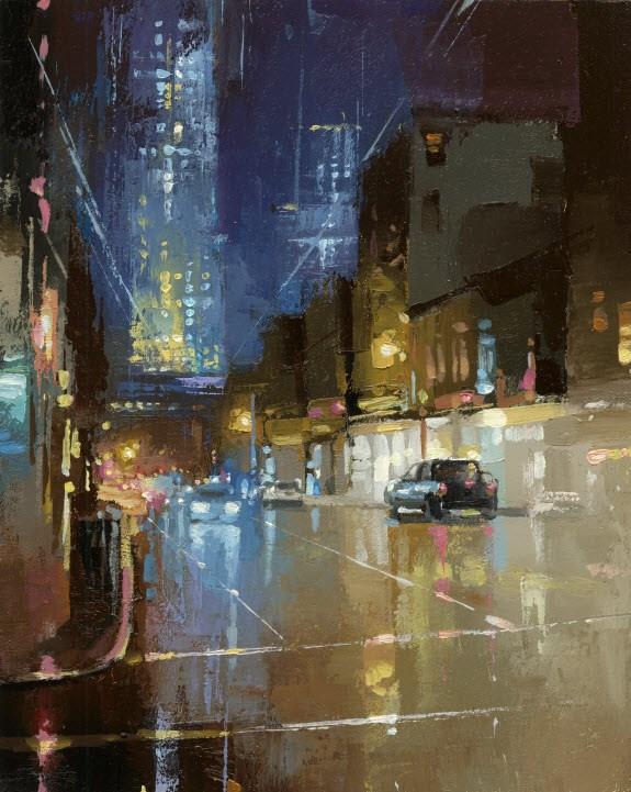 """""""World Trade Center"""" original fine art by Victor Bauer"""