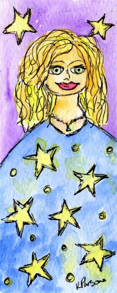 """Happy New Year!"" original fine art by Kali Parsons"