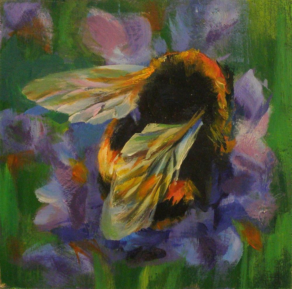 """BUZZZ"" original fine art by Brian Cameron"
