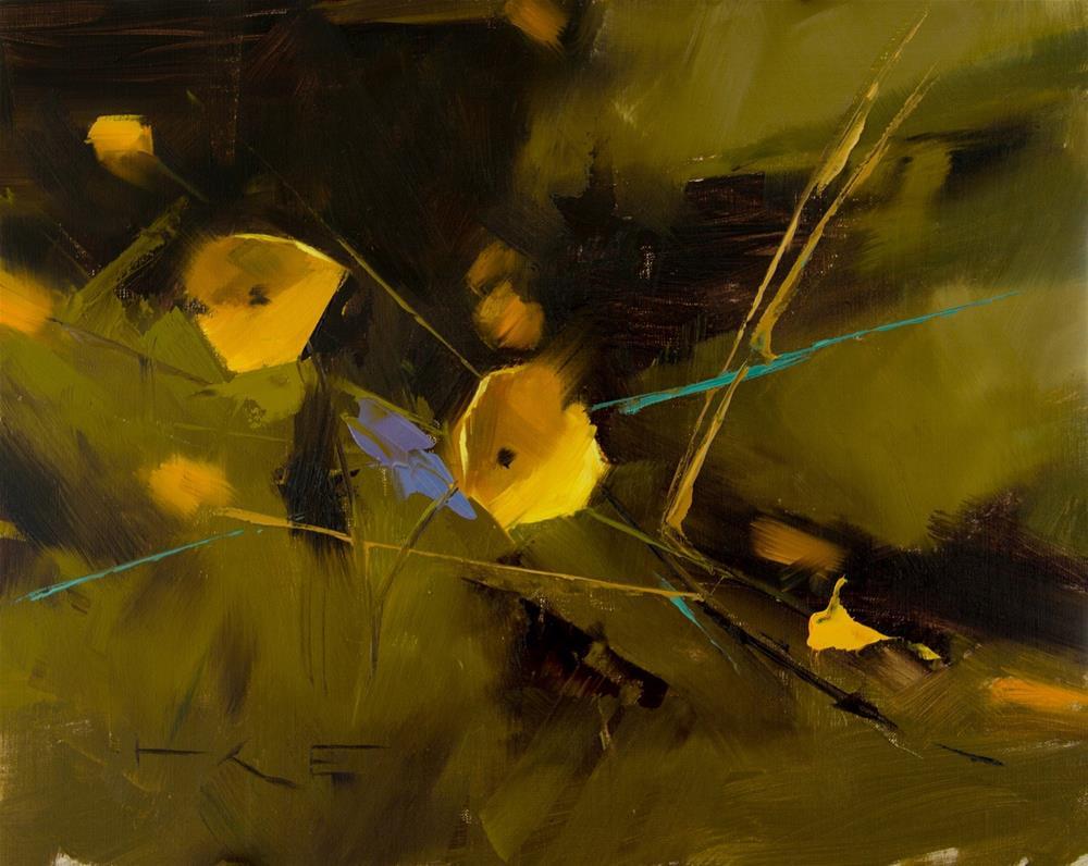 """Buttercups 2"" original fine art by Thorgrimur Andri Einarsson"