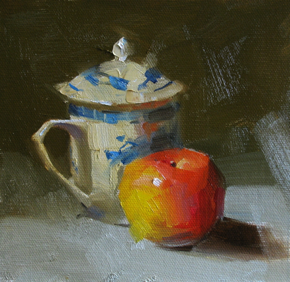 """""""Chinese Tea"""" original fine art by Qiang Huang"""