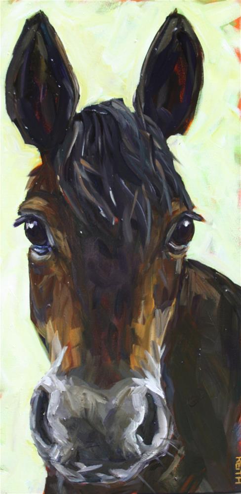 """Leno"" original fine art by Kandice Keith"