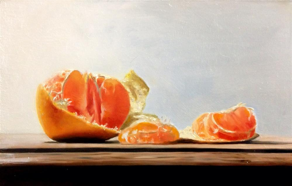 """Juicy Satsuma"" original fine art by James Coates"
