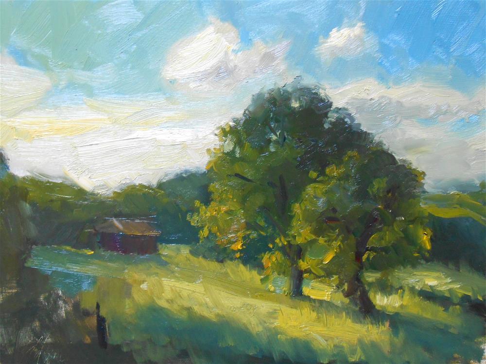 """Morning Light Glow"" original fine art by Kelli Folsom"