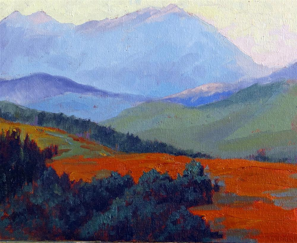 """Guardsman's Pass, Utah"" original fine art by Nancy Paris Pruden"