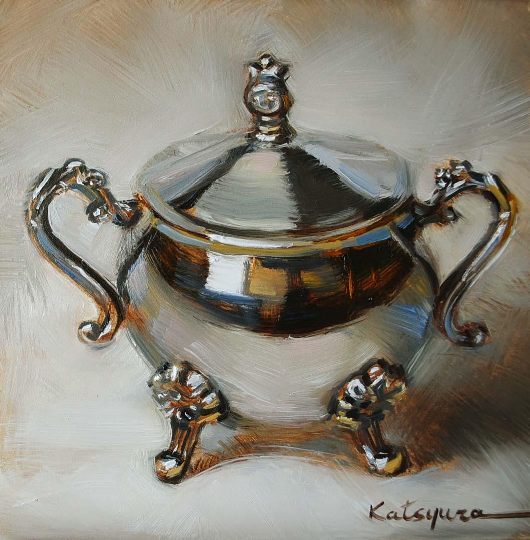 """Reflections"" original fine art by Elena Katsyura"