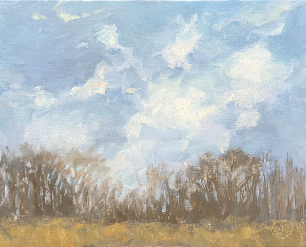 """""""winds of change"""" original fine art by Dottie  T  Leatherwood"""