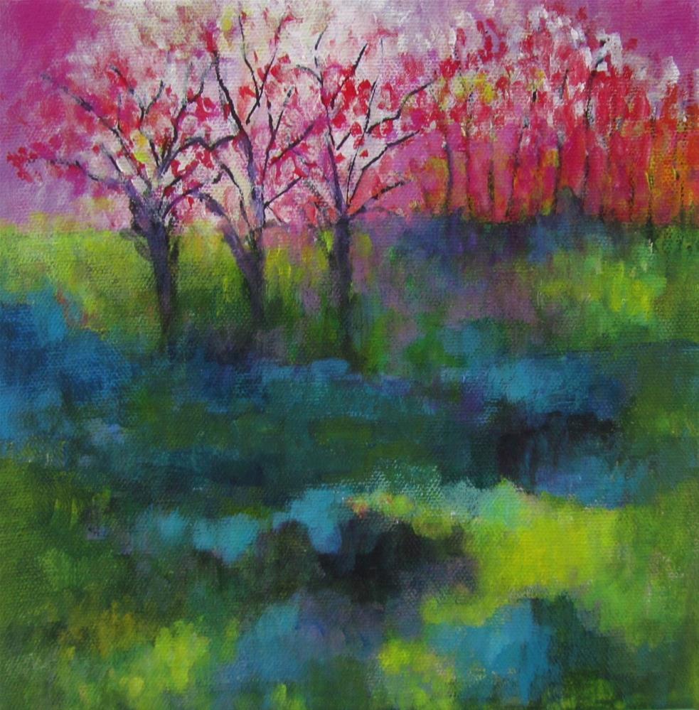 """A New Day"" original fine art by Patricia MacDonald"