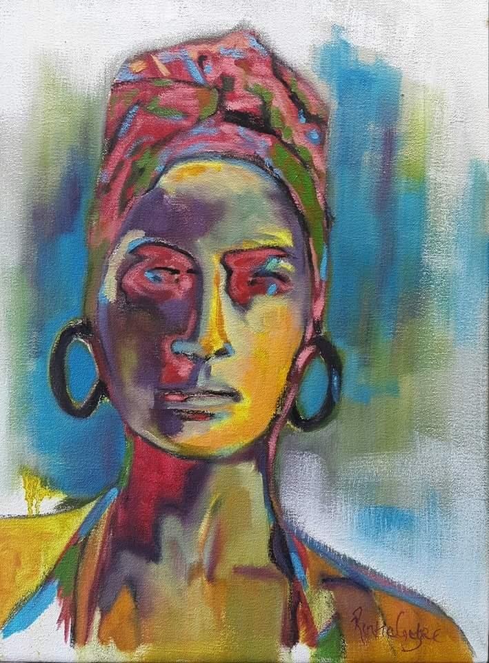 """No blue Monday"" original fine art by Rentia Coetzee"