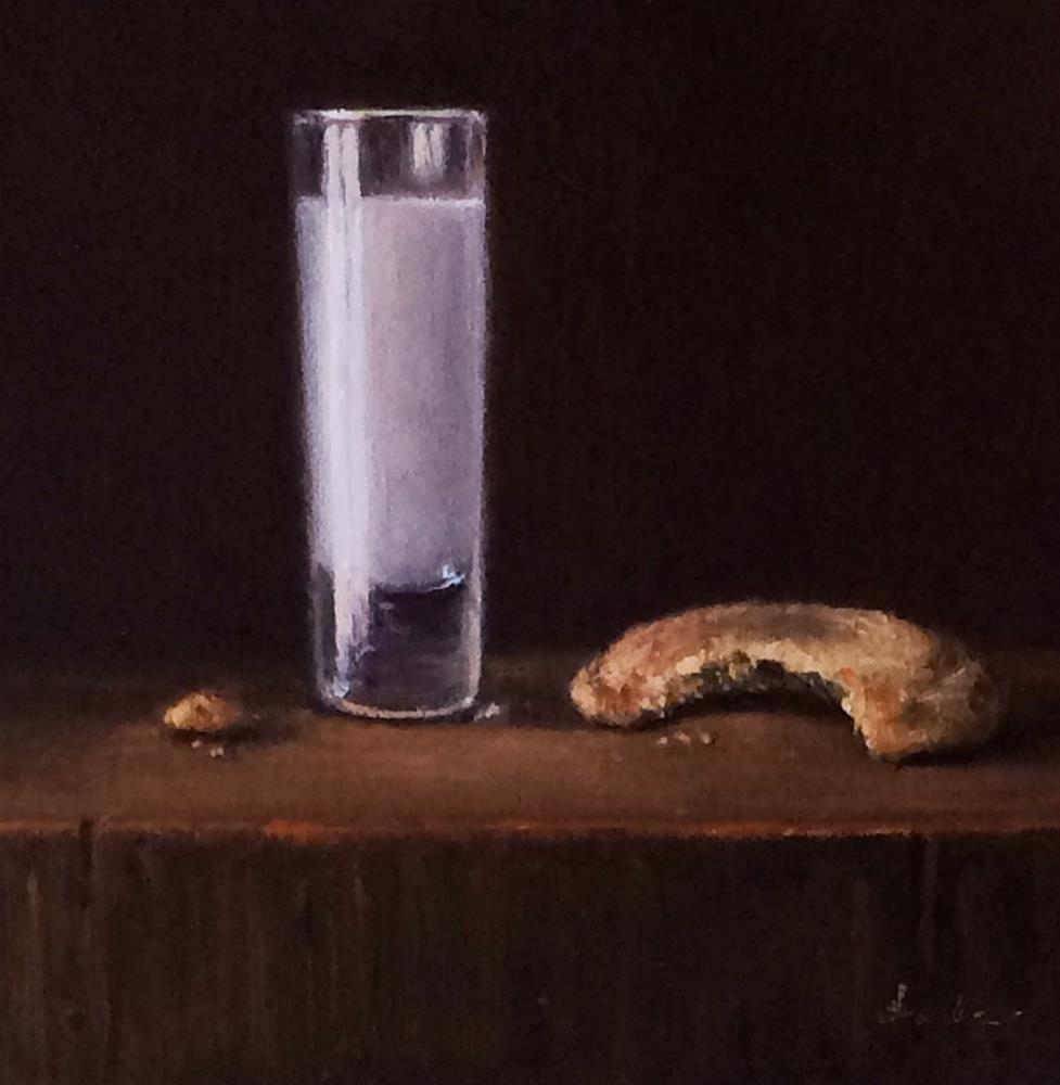 """Cookie Shot"" original fine art by Darla McDowell"