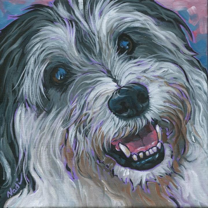 """Moseley"" original fine art by Nadi Spencer"