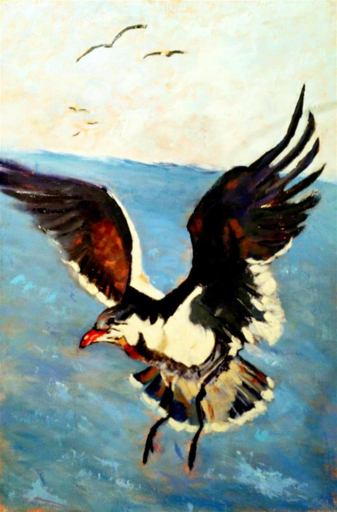 """""""I'm Coming!  And I'm Bringing Hell with me!"""" original fine art by Pamela Wedemeyer"""