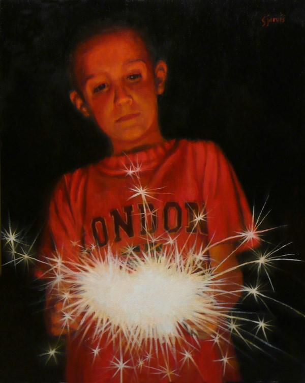 """Fourth of July"" original fine art by Susan N Jarvis"
