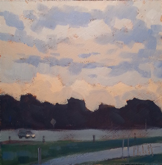 """Contemporary Impressionism Landscape Oil Painting Heidi Malott"" original fine art by Heidi Malott"