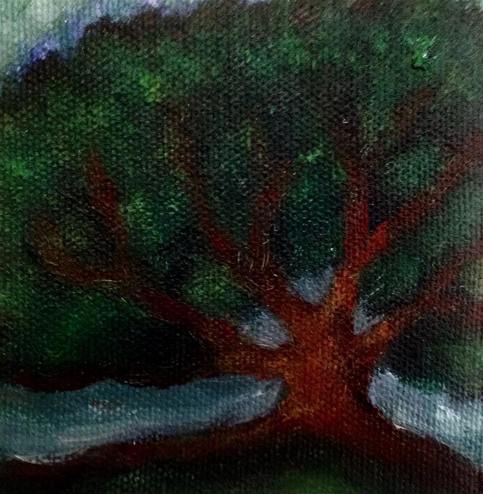 """Oak"" original fine art by Giovanni Antunez"
