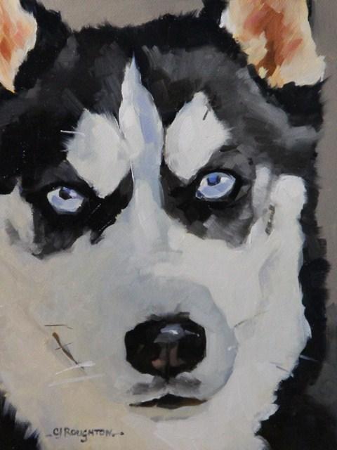 """""""Maya's Eyes"""" original fine art by C J Roughton"""