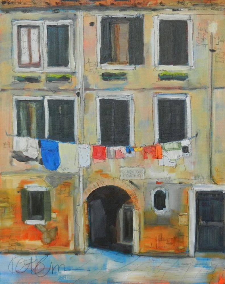 """The Wash"" original fine art by Kathy Broyles"