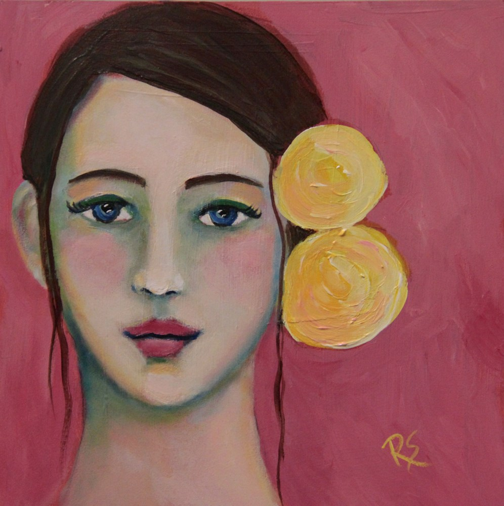 """""""Katya"""" original fine art by Roberta Schmidt"""