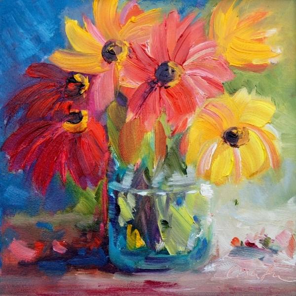 """Something colorful"" original fine art by Lisa Fu"