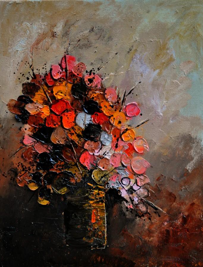 """""""Still Life 452110"""" original fine art by Pol Ledent"""