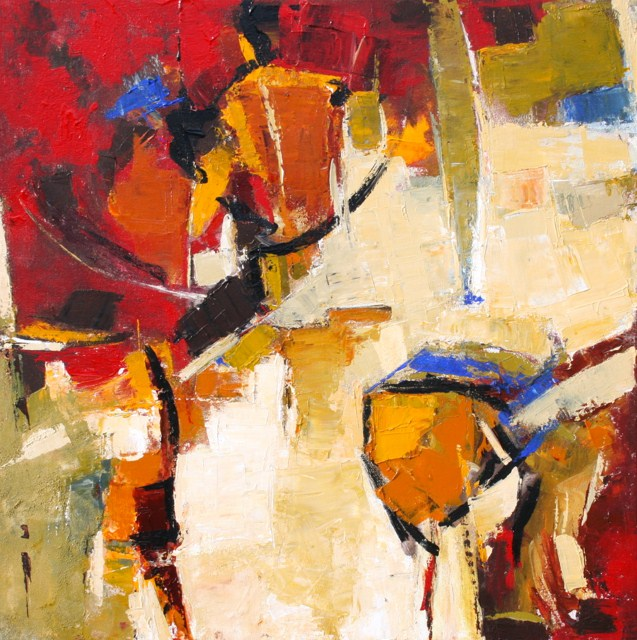 """Advance"" original fine art by Elizabeth Chapman"