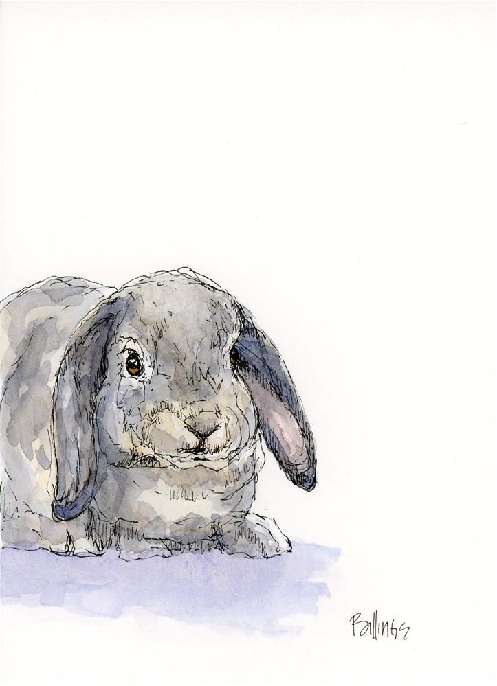 """Loppy I"" original fine art by Susanne Billings"