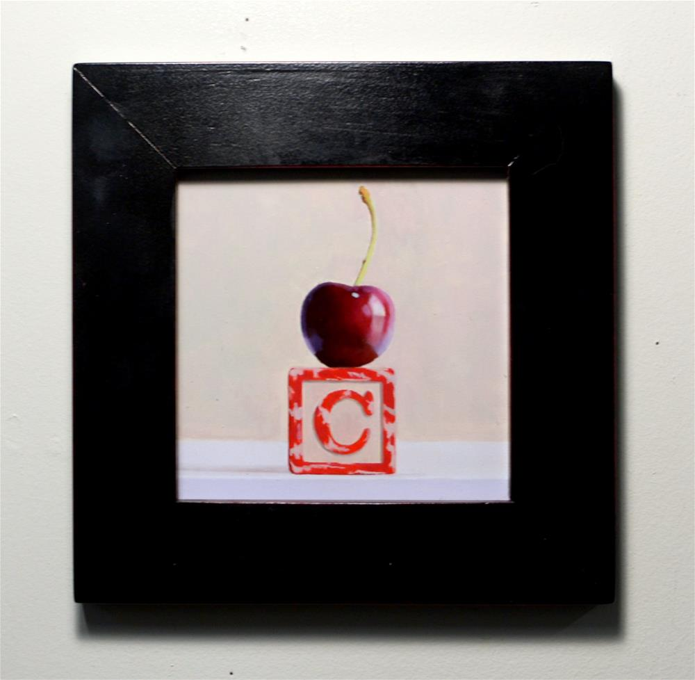 """Cherry on Top"" original fine art by Brian Burt"