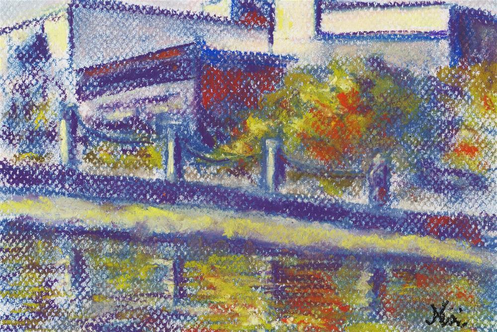 """Venice Canal"" original fine art by Niki Hilsabeck"