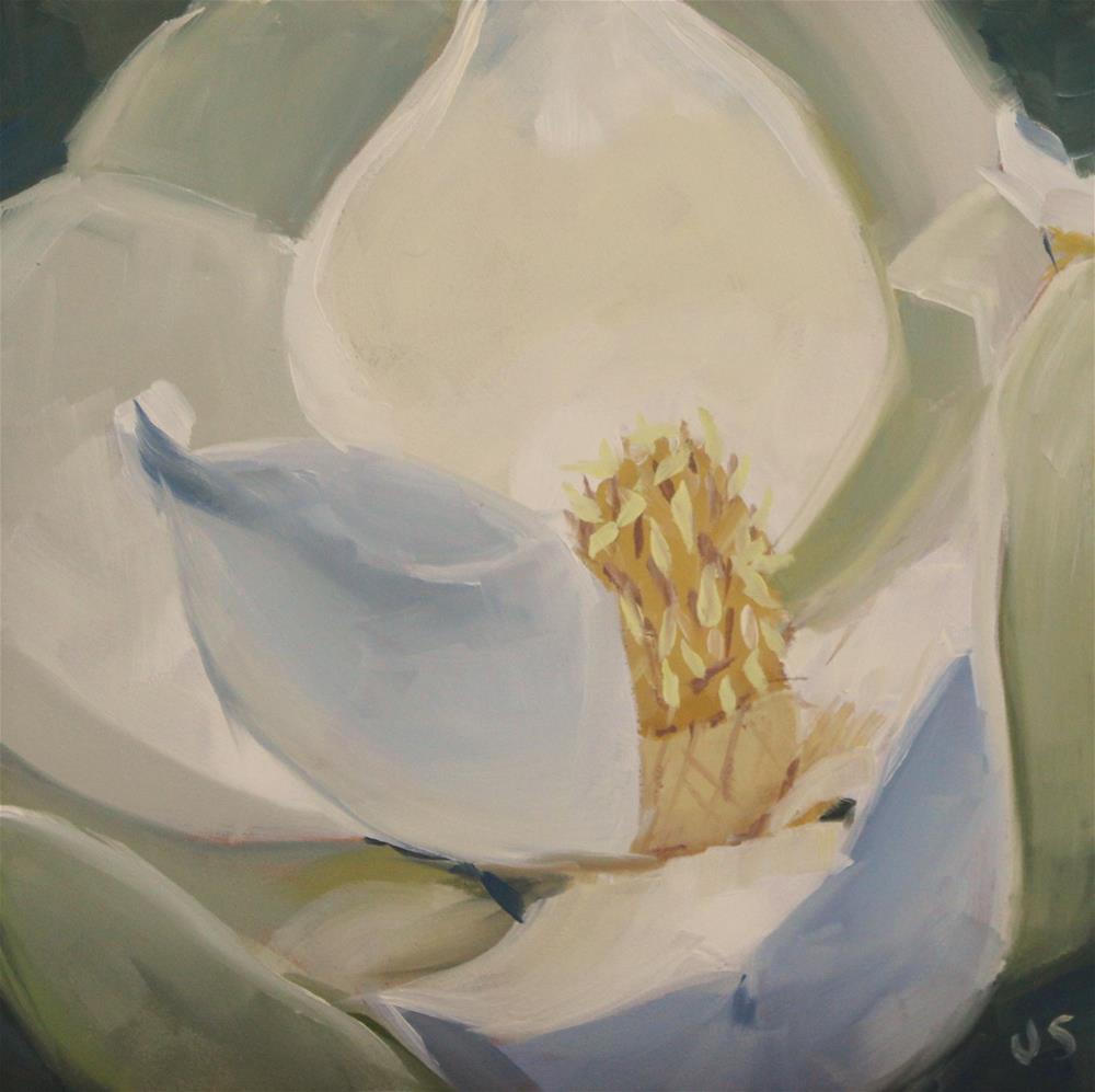 """Magnolia Study 1"" original fine art by Jamie Stevens"