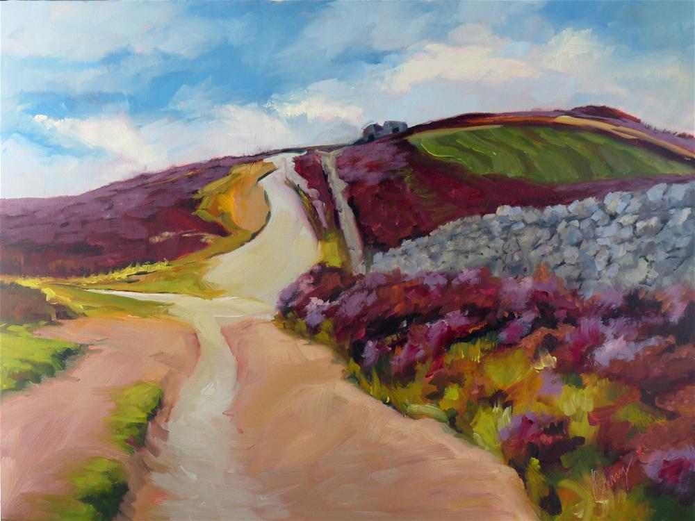 """""""Crossroads"""" original fine art by Sharman Owings"""