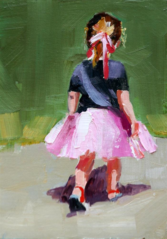 """tutu cute"" original fine art by Carol Carmichael"