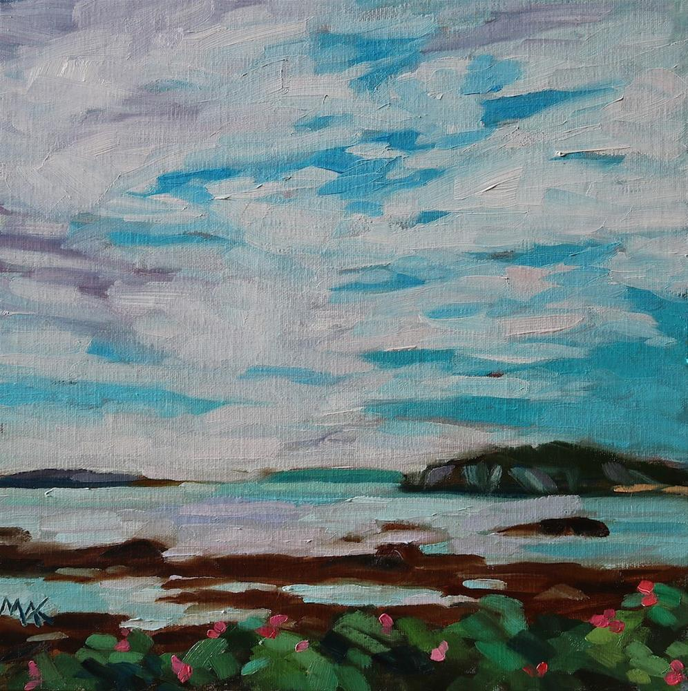 """Whitehead"" original fine art by Mary Anne Cary"