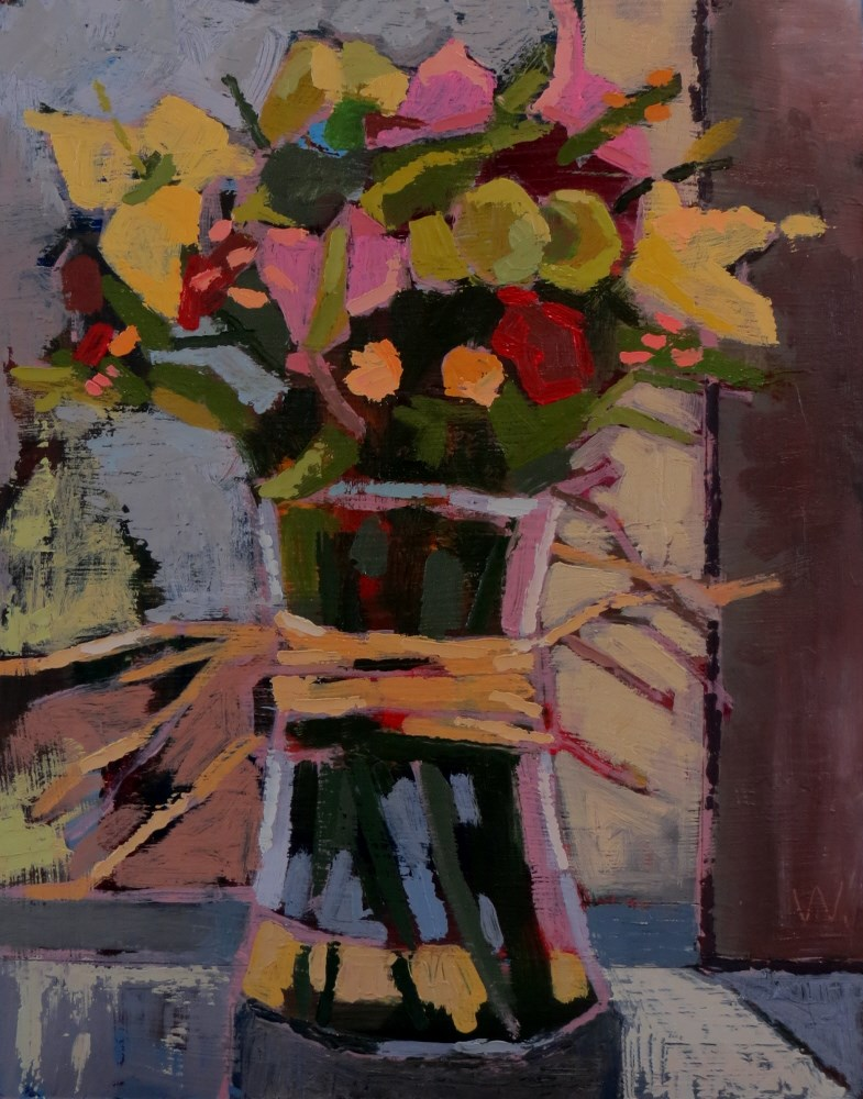 """Spring Bouquet"" original fine art by Joan Wiberg"