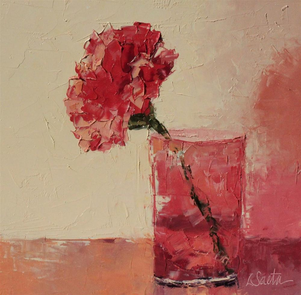 """Thirsty"" original fine art by Leslie Saeta"