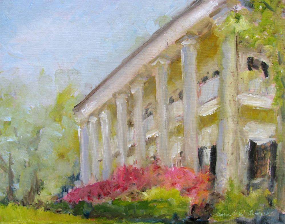 """""""Ellerslie"""" original fine art by Susan Elizabeth Jones"""