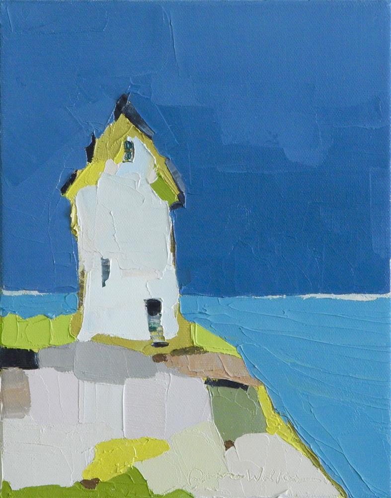 """A Clear View"" original fine art by Donna Walker"