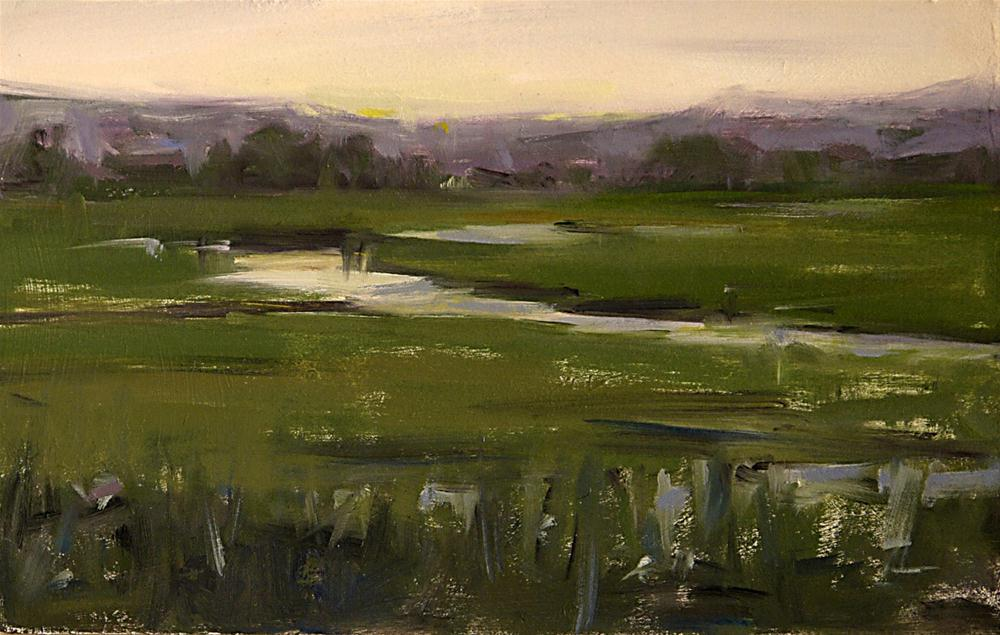 """Late Afternoon"" original fine art by Mike Peterson"